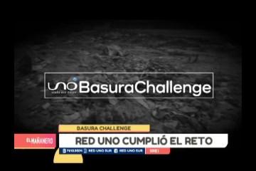 """LA RED UNO CUMPLIÓ EL RETO """"BASURA CHALLENGE"""""""