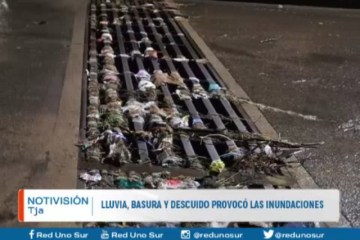 LLUVIA, GRANIZO Y DESCUIDO PROVOCÓ LAS INUNDACIONES
