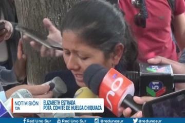 """""""PEDIMOS QUE NO ENTREN A LA RESERVA DE TARIQUÍA"""""""