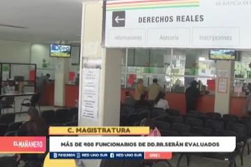 MÁS DE 400 FUNCIONARIO DE DD.RR. SERÁN EVALUADOS