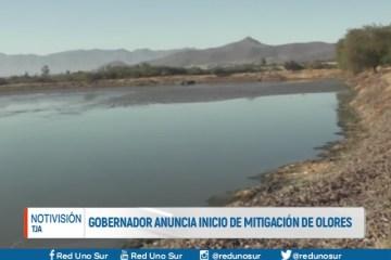 GOBERNADOR ANUNCIA INICIO DE MITIGACIÓN DE OLORES