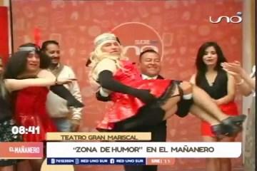 """""""ZONA DE HUMOR"""" EN EL MAÑANERO"""