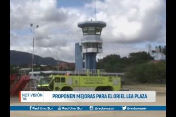 PROPONEN MEJORAS PARA EL AEROPUERTO ORIEL LEA PLAZA