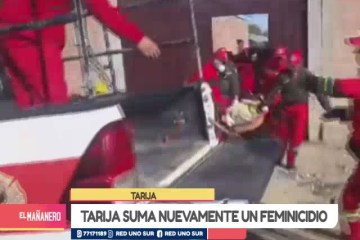 TARIJA SUMA NUEVAMENTE UN FEMINICIDIO