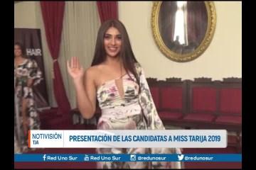 PRESENTACIÓN DE LAS CANDIDATAS A MISS TARIJA 2019