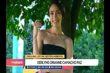CHICA UNO TARIJA: KERLYNG ORIANNE CAMACHO PAZ