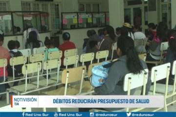 DÉBITOS REDUCIRÁN PRESUPUESTO DE SALUD