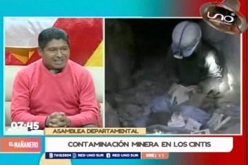 CONTAMINACIÓN MINERA EN LOS CINTIS