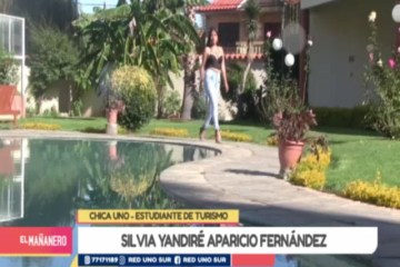 CHICA UNO TARIJA: SILVIA YANDIRÉ APARICIO FERNÁNDEZ