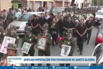 AMPLÍAN IMPUTACIÓN POR FEMINICIDIO DE JANETH ALEGRÍA