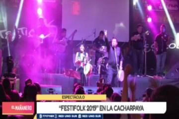 ESPECTÁCULO: FESTIFOLK 2019