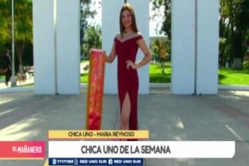 CHICA UNO TARIJA: MARÍA REYNOSO