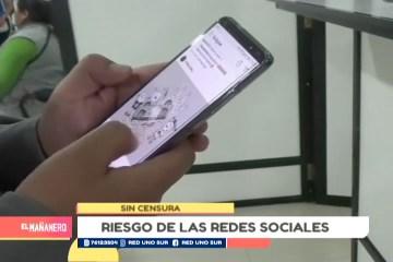 SIN CENSURA: RIESGO DE LAS REDES SOCIALES