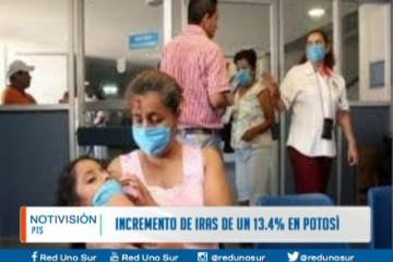 INCREMENTO DE IRAS DE UN 13% EN POTOSÍ