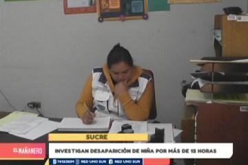 INVESTIGAN DESAPARICIÓN DE NIÑA POR MÁS DE 12 HORAS