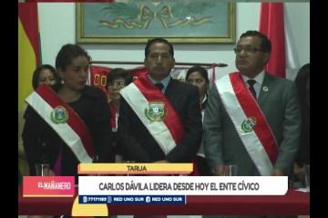 CARLOS DÁVILA LIDERA DESDE HOY EL ENTE CÍVICO