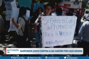SUSPENDEN JUICIO CONTRA ELÍAS GARZÓN POR CASO DAYANA