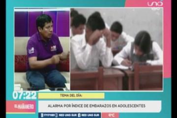 TEMA DEL DÍA: ÍNDICES DE EMBARAZO ADOLESCENTE