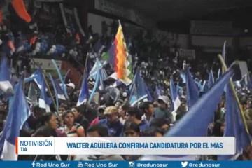 WALTER AGUILERA CONFIRMA CANDIDATURA POR EL MAS