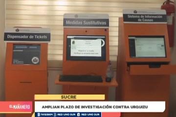 AMPLÍAN PLAZO DE INVESTIGACIÓN CONTRA URQUIZU
