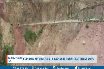 ESPERAN ACCIONES EN LA VARIANTE CANALETAS-ENTRE RÍOS