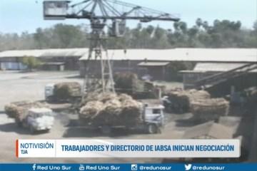 TRABAJADORES Y DIRECTORIO DE IABSA INICIAN NEGOCIACIÓN