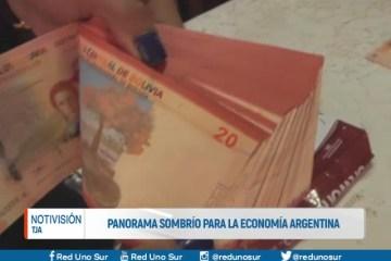 PANORAMA SOMBRÍO PARA LA ECONOMÍA ARGENTINA