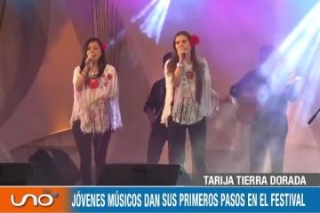 TARIJA TIERRA DORADA: FESTIVAL DE CANTO Y LA ALOJA, SEMILLERO DE ARTISTAS