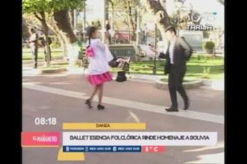 HOMENAJE A LOS 194 AÑOS DE CREACIÓN DE BOLIVIA
