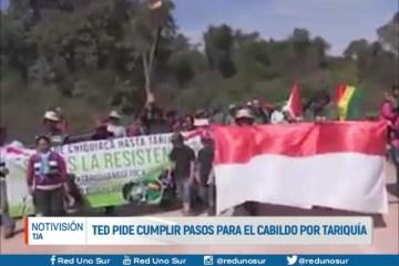 TED PIDE CUMPLIR PASOS PARA EL CABILDO POR TARIQUÍA