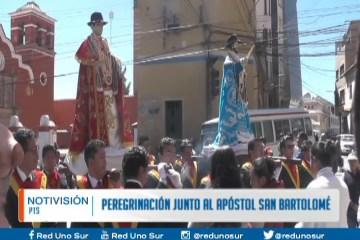 PEREGRINACIÓN JUNTO AL APÓSTOL SAN BARTOLOMÉ