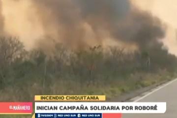 INICIAN CAMPAÑA SOLIDARIA POR ROBORÉ