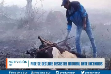PIDEN SE DECLARE DESASTRE NATURAL ANTE INCENDIOS