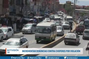 INCREMENTAN DENUNCIAS CONTRA CHOFERES POR VIOLACIÓN