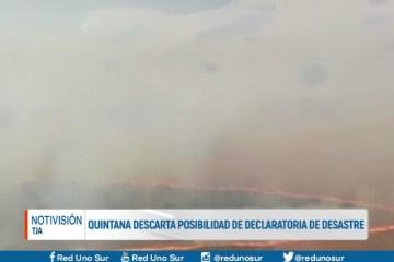 QUINTANA DESCARTA LA POSIBILIDAD DE DECLARATORIA DE DESASTRE