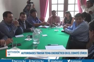 AUTORIDADES TRATAN TEMA ENERGÉTICO EN EL COMITÉ CÍVICO