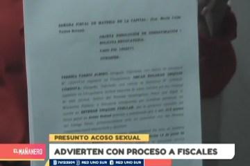 DENUNCIAN PROTECCIÓN AL GOBERNADOR DE CHUQUISACA