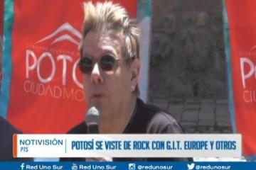 POTOSÍ SE VISTE DE ROCK CON GIT, EUROPE Y OTROS
