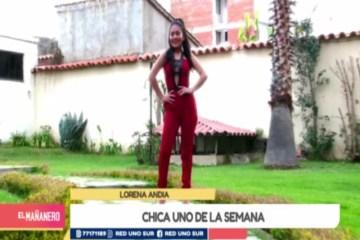 CHICA UNO TARIJA: LORENA ANDIA