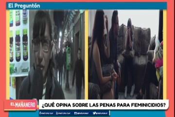 EL PREGUNTÓN: 30 AÑOS DE CÁRCEL PARA FEMINICIDA