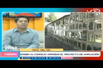 TEMA DEL DÍA: FALTA DE NICHOS EN EL CEMENTERIO GENERAL
