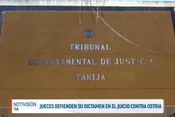 JUECES DEFIENDEN SU DICTAMEN EN EL JUICIO CONTRA OSTRIA