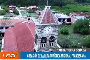 CREACIÓN DE LA RUTA TURÍSTICA MISIONAL FRANCISCANA