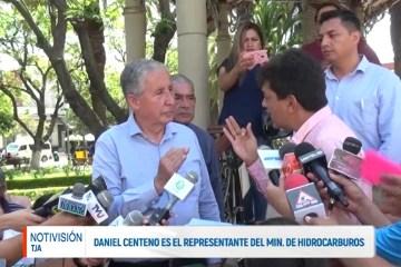 DANIEL CENTENO ES EL REPRESENTANTE DEL MIN. DE HIDROCARBUROS