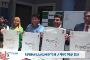 REALIZAN EL LANZAMIENTO DE LA FEXPO TARIJA 2020