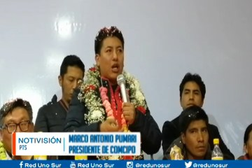 COMCIPO ANALIZA CANDIDATURA DE PUMARI A ELECCIONES