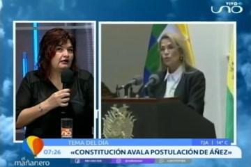 TEMA DEL DÍA: ANÁLISIS CONSTITUCIONAL DE LAS CANDIDATURAS
