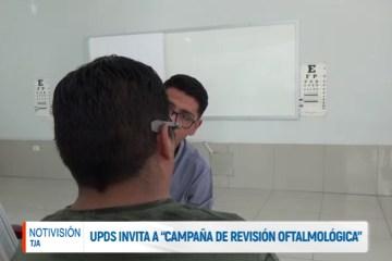 """LA UPDS INVITA A """"LA CAMPAÑA DE REVISIÓN OFTALMOLÓGICA"""""""