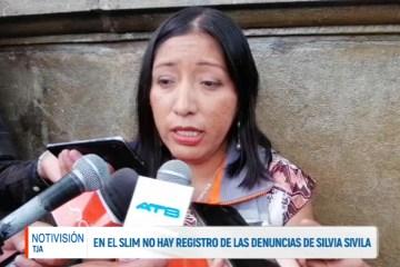EN EL SLIM NO HAY REGISTRO DE LAS DENUNCIAS DE SILVIA SIVILA