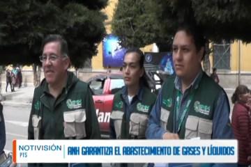 ANH GARANTIZA EL ABASTECIMIENTO DE GASES Y LÍQUIDOS